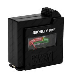 D клеток онлайн-1.5 / 9 в тестер батареи AA/AAA/C / D кнопка клетки мини карманный размер тестер напряжения Бесплатная доставка все Солнце BT1