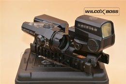 Wholesale Evo D - NEW Dual-Enhanced View Optic D-EVO Reticle Rifle Scope Magnifier with LCO Red Dot Sight Reflex Sight