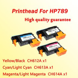 Wholesale Printer Head Hp - 3x high quality printhead for hp789 for hp 789 L25500 printer head CH612A CH613A CH614A