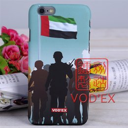 Wholesale Hot Selling Iphone5 Cases - Vodex Hot Selling Soldiers Assault For iphone Case Cover Water Stickers Phone Shell Embossed 3D For iPhone5   6   6p