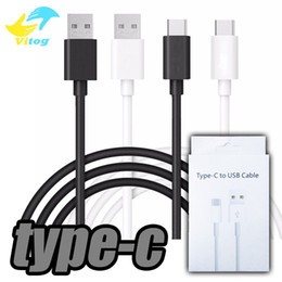 Wholesale Usb Data Sync Cable Retail - Wtih Retail Package USB Type C Cable, Male Data Sync type-c Cable Apple New Macbook 12 Inch, for samsung s8 , Google Chrome Pixel