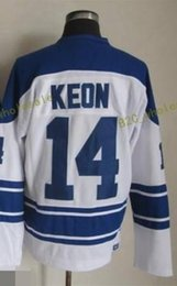 Wholesale Mixed Leaf - Stitched TORONTO MAPLE LEAFS 13 SUNDIN 14 KEON 16 TUCKER White Blue Green Throwback Hockey Jerseys Ice Jersey do Drop Shipping,Mix Order