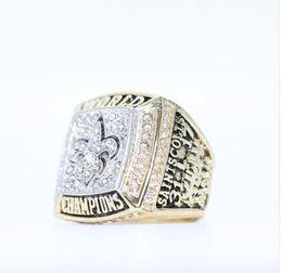 Wholesale Saints Rings - 2009 NEW ORLEANS SAINTS SUPER BOWL XLIV WORLD CHAMPIONSHIP RING US SIZE 8 9 10 11 12 13 14 AVAILABLE