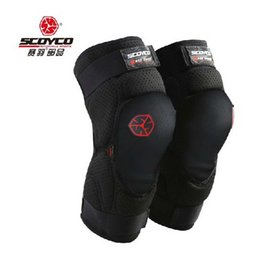 Wholesale Model Motorbikes - 2017 Summer New SCOYCO Motor racing products Kneepad motorcycle riders knee pads outdoor sports motorbike kneelet model K16 Ventilati