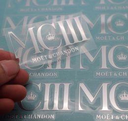 Wholesale Wholesale Custom Die Cut Stickers - Nickel Sticker Waterproof Decoration Metal Electroplating Custom Die Cut Stickers From Your Design and Image
