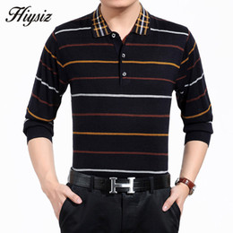 Wholesale Men Dress Sweaters - Wholesale- High Quality Men Sweater Tops Business Formal Dress Long Sleeve Turn-down Collar Cashmere Wool Pullover Men Brand Clothing 66125