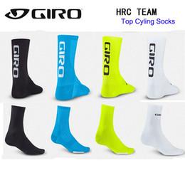 Wholesale Soled Socks - Men Cycling Socks Sports Bike Footwear Non-slip soles man Wicking breathable Bike socks soccer bicycle sock ciclismo calzini