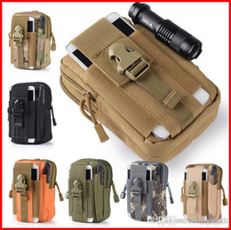 Wholesale Hockey Belts - Outdoor Sports BagTactics Army Pocket Male 5.5inch Waterproof Mobile Phone Bag Wearing Running Belt Bag out122