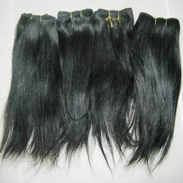 Wholesale Nouveaux articles de cheveux indiens les moins chers poils faisceaux droits naturels doux élégant élégant élégant Ventes