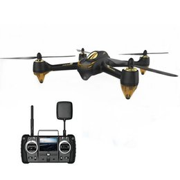 Wholesale Brushless Electric Rc - Wholesale- Original Hubsan H501S X4 Pro 5.8G FPV Brushless With 1080P HD Camera GPS RC Quadcopter RTF Mode Switch With Remote Control