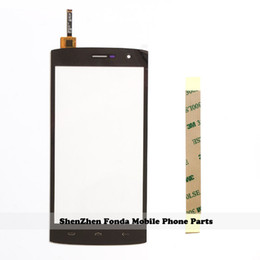 Wholesale Mobile Phone Screen Glass Lens - Wholesale- 5.5'' New Mobile Phone Touch Screen For HOMTOM HT7 HT7 Pro Touchscreen Panel Digitizer Sensor Front Glass Lens + Tape