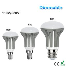 Wholesale E14 Led Candle Lamp 7w - non-Dimmable LED E27 E14 Light Blub 3W 5W 7W 220V 110V LED Umbrella Bulb Lamps lampada led Candle Lighting R39 R50 R63