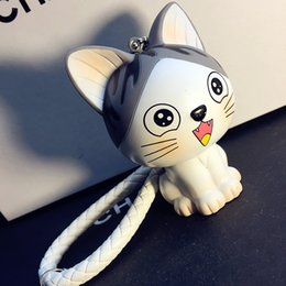 Wholesale Spike Plush Doll - Personalized car keys, lovely cats, creative compact cars, key chains, key chains, dolls, key rings