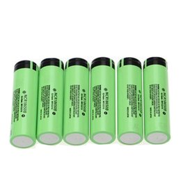 Wholesale Lithium Ion Battery For Tool - Panasonic 18650 battery NCR18650B 3400mah 18650 battery Panasonic 18650 3.7v li-ion rechargeable powerful for tools