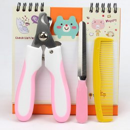 Wholesale Pet Dog Nail Clippers Scissors Nail Toe Trimmer Handy Nail Care Grooming Tool Safety Cutter Claws Scissor