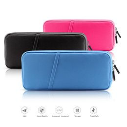 Wholesale Videos Host - For Nintendo Switch Video Game Hosting Soft Bag Controller Carrying Case NS Vedeo Game Console Protective Pouch Bag