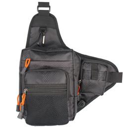 Wholesale Art Canvas Bags - Kylebooker Fishing Bag Multi-Purpose Canvas Waterproof Fishing Reel Lure Tackle Bag