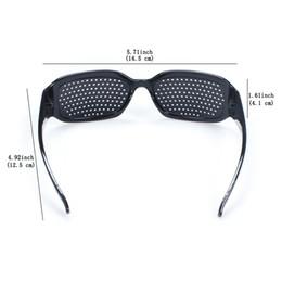 Wholesale Vision Eye Exercises - Pinhole Glasses Eyesight Care Improve Vision Eyes Exercise Dioptric Grid Glasses For Adult Kids free shipping