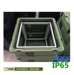 Wholesale Instrument Hard Cases - rack cases series 11U waterproof box 621* 675* 850mm Hard plastic case with shock absorber instrument box waterproof safety equipment case