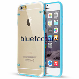 Wholesale Glowing Cover Case - For iPhone 7 Light Glow in Dark Night Crystal Hybrid TPU Silicone + PC plastic Luminous Transparent Case Cover for iPhone 6S iphone 5s