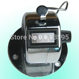 Wholesale Desk Tally Counter - Wholesale-4 Digits Stainless Desk & Hand Held Tally Counter #8656 Phnpf