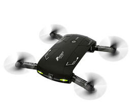 Wholesale Angle Photography - New arrival Pocket Fold Portable Photography Wifi FPV With 0.3MP Camera Phone Control RC Drones Quad copter RTF Helicopter