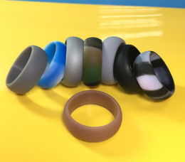 Wholesale Coupling Flexible - DHL Silicone Wedding Ring Couple Love Flexible Silicone Ring Wedding Comfortable Ring for Mens Multicolor Comfortable Design Vintage Rings