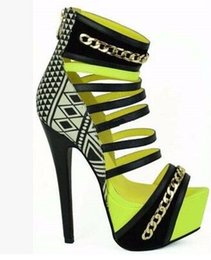 Wholesale Stilettos Shoes China - 2017 colorful high heels women pump open toe thin heels for leather gladiator sandals women shoes china with zip cover heels shoes
