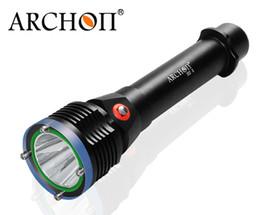 Wholesale Scuba Dive Flashlight - ARCHON D22 II CREE XM-L2 U2 LED Diving Snorkeling Scuba Flashlight