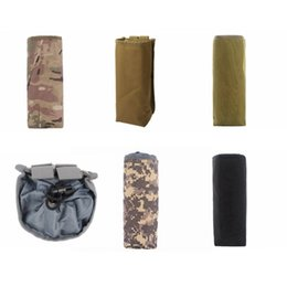 Wholesale Hot Cold Thermal Bags - Tactical Army Water Bag Thermal Insulation Interior Hot Water Pouch Kettle Portable wearproof Bag Heat Cold Water Bottle Bag