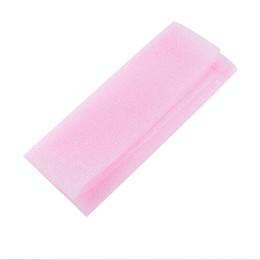 Wholesale Wholesale Nylon Body Scrubs - Wholesale-1Pcs Hot Sale Exfoliating Nylon Bath Shower Body Cleaning Washing Scrubbing Cloth Towel Sponges Scrubbers