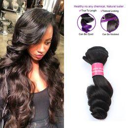 Wholesale Brazilian Loose Wavy Weave - Wholesale Brazilian Virgin Hair 3Pcs Loose Wave Human Hair Unprocessed Brazilian Loose Wave Bundle Wet And Wavy 8A Grade Brazilian Hair