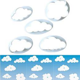 Bulutlar Kek Kalıp Dekoratif Baskı Bulut Şekli Sevimli Kalıp Kesme Fondan Kesici Plastik Kek Kurabiye Kalıpları Sıcak 1 5tt F nereden