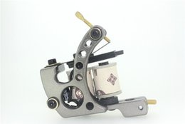 Wholesale Tattoo Liner Machine For Sale - Hot Sale Alloy Tattoo Machine Tattoo Guns Supply For Liner & Shader Low Heat Tattoo Guns 10 Coils