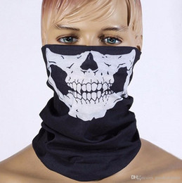 Wholesale Magic Ski - Hot selling polyester Outdoor sports joker cycling seamless changed magic collar hip hop wind warm scarf mask Halloween
