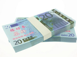 Wholesale Paper Music Notes - 5 10 20 50 100 200 500 Euro Paper Money Notes Training Collect Learning Banknotes