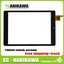 Wholesale rk3188 quad core - Wholesale- (Ref:TOPSUN_G7034_A1 ) for 7inch CHUWI V88 Quad Core RK3188 Tablet Digitizer Glass Sensor Replacement Tablet Touchscreen black