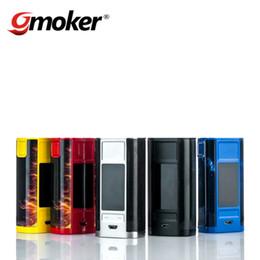 Wholesale E Cigarette Ego Led - 100% Original Joyetech Cuboid Tap 228W Box Mod Large LED Display E Cigarette Vape Mod vs Wismec Predator VS Joyetech eGo Aio kit