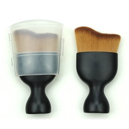 Wholesale Gold Toothbrush - 2017 HOT Brushes for Makeup sets Blush toothbrush Cosmetic Foundation BB Cream Powder Tools Black gold box kylie jenner brush
