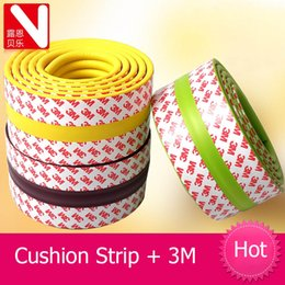 Wholesale Corner Safety - Wholesale- Infants and children baby bumper strip thick anti-collision edging Cushion strip nursery corner protectors Child Safety Products