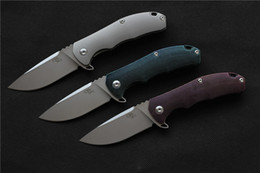 Wholesale Alloy Products - Free shipping,CH 3504 New Product titanium handle AUS-8 blade Outdoor Flipper folding knife camping hunting pocket fruit knives EDC tool