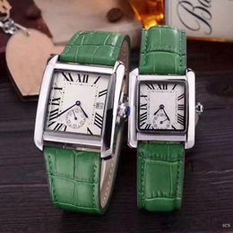 Wholesale Number Acrylic Watch - New Fashion Luxury Watches Dress ladies Mens watch Rome Numbers Leather Strap Casual Top Brand Quartz Wristwatch for Men Women Grils gift