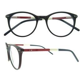 Wholesale Hinges Screws - Oval never fade frame hit color simple pattern screw metal decoration design spring hinge men women eyeglasses frame