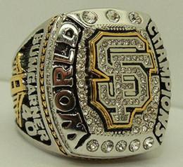 Wholesale Super Champions - 2014 Championship rings San Francisco Giant team Super champion ring