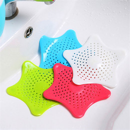 Wholesale New Cute Home Living Floor Drain Hair Stopper Bath Catcher Sink Strainer Sewer Filter Shower Cover ELH012
