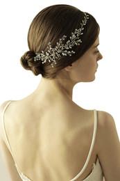 fascinator fiore da sposa Sconti Strass fiore di lusso copricapo da sposa Accessori per capelli Occasioni speciali Fasce da sposa Fascia per capelli Tiara Corona nuziale Fascia CPA892