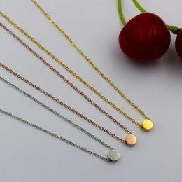 pendentif en acier inoxydable pendentif hommes Promotion Style en gros en acier inoxydable charme pendentif chaîne collier cadeau médaillon chaînes pendentif collier pour hommes femmes