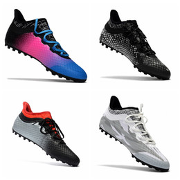 Wholesale Soccer Indoor Shoes Messi - 2017 original soccer cleats X Tango 16.1 16 TF soft ground football boots cheap leather soccer shoes indoor chuteiras futebol messi shoes