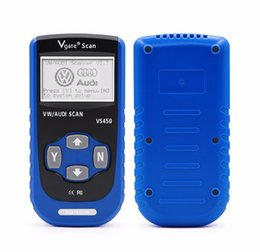 Wholesale Scanner Airbag Reset Tool - Vgate VS450 For VAG OBDII OBD 2 Code Reader Car Diagnostic Tool VS 450 Reset Airbag ABS CAN Scanner with free shipping