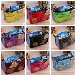 Wholesale Travel Cosmetic Cases Women - Women Lady Travel Makeup Organizer Bag Girls Cosmetic Bag Toiletry Travel Kits Storage bag Makeup Bags Cases Cosmetics KKA2762